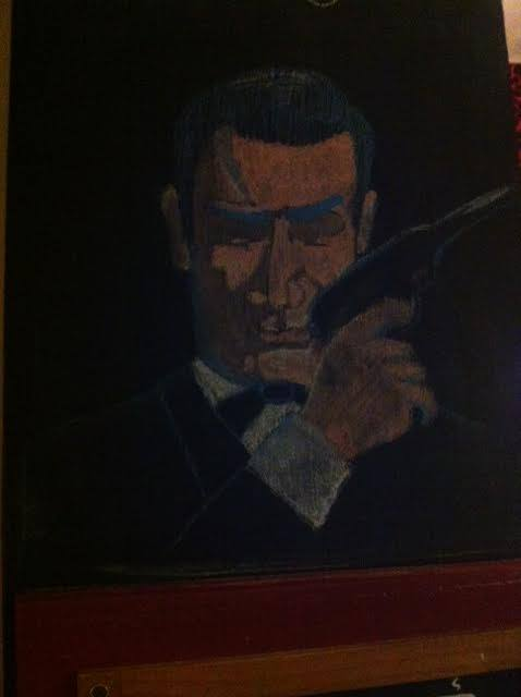 Sean Connery Cameo Chalk