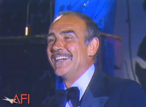 Sean Connery - Hitchcock AFI Lifetime Achievement Awards